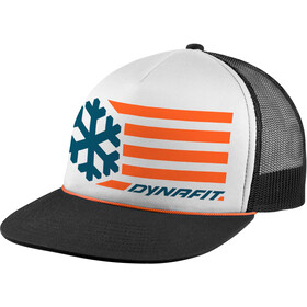 Dynafit Graphic Casquette Trucker, white/0910 flag